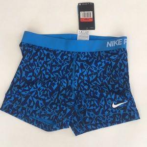 New Woman's Nike Dri Fit Pro Training Shorts